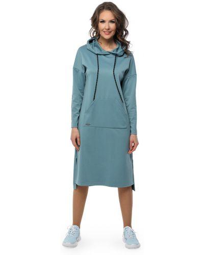 Прямое платье с длинными рукавами с капюшоном Dizzyway
