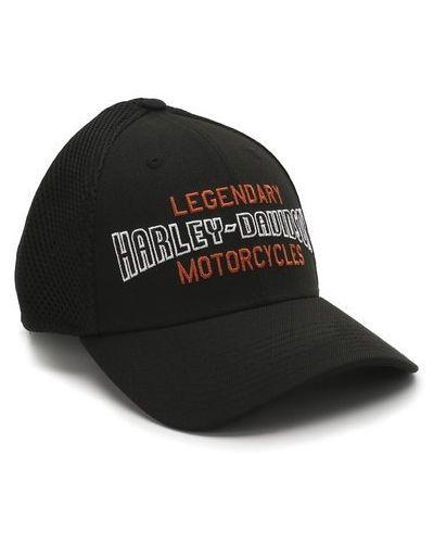Бейсболка из габардина сетчатая Harley Davidson