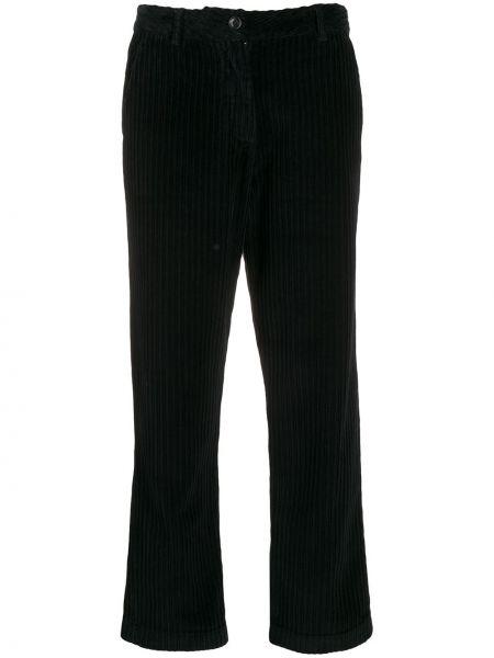 Укороченные брюки вельветовые с завышенной талией Woolrich
