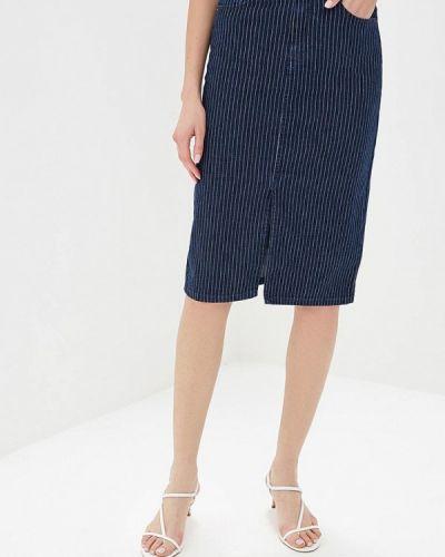 Джинсовая юбка синяя Marks & Spencer
