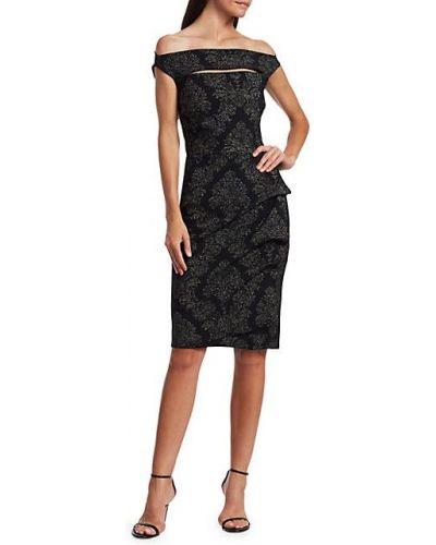 Приталенное коктейльное платье с вырезом стрейч Chiara Boni La Petite Robe