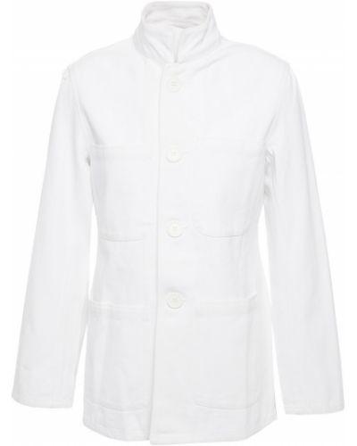 Biała kurtka bawełniana Antik Batik