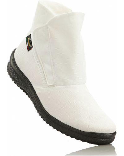 Белые сапоги непромокаемые Bonprix