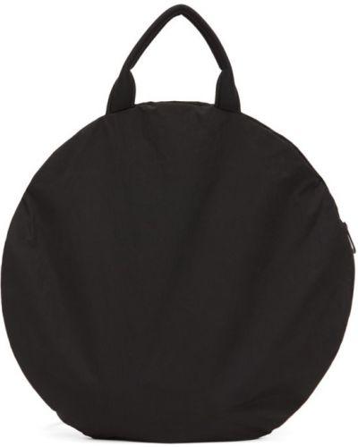 Plecak na laptopa czarny na ramieniu Cote And Ciel