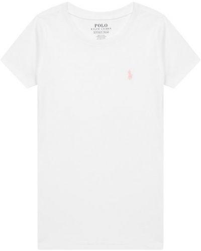 Футболка с вышивкой с логотипом Polo Ralph Lauren