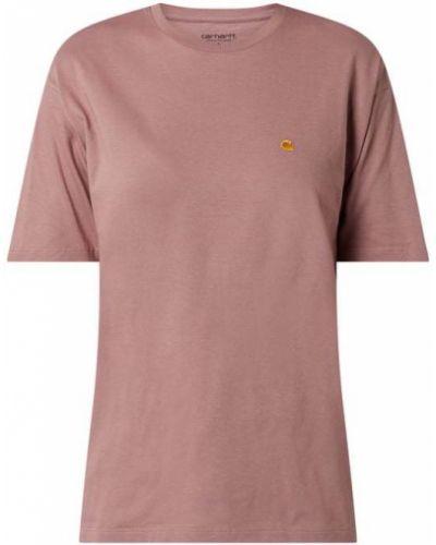 T-shirt bawełniana - fioletowa Carhartt Work In Progress