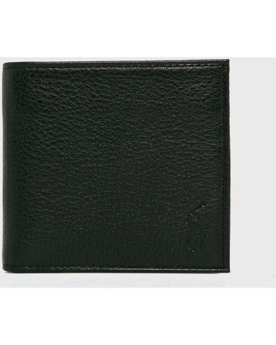 Кошелек кожаный черный Polo Ralph Lauren