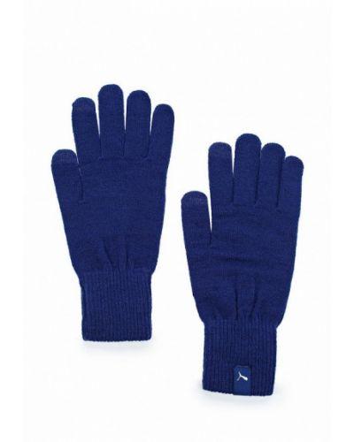 Перчатки синий Puma
