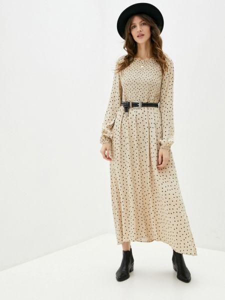 Бежевое платье B.young