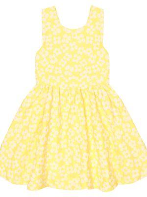 Желтое платье жаккардовое Tartine Et Chocolat