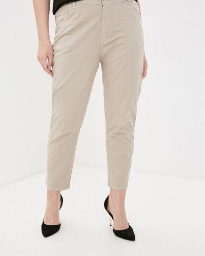 Бежевые зауженные брюки Sophia