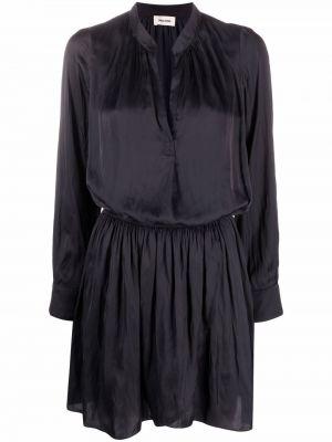Черное прямое платье Zadig&voltaire