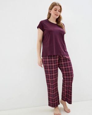 Пижама красная пижамный Marks & Spencer