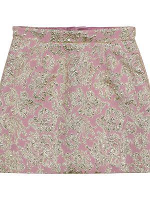 Różowa spódnica Dolce & Gabbana Kids