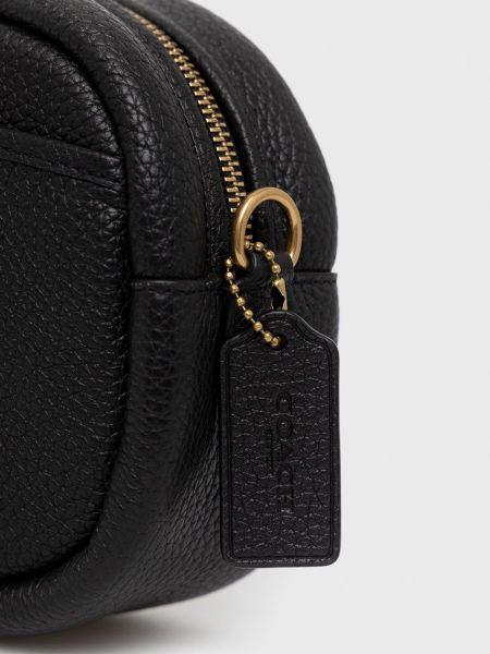 Кожаная сумка через плечо Coach