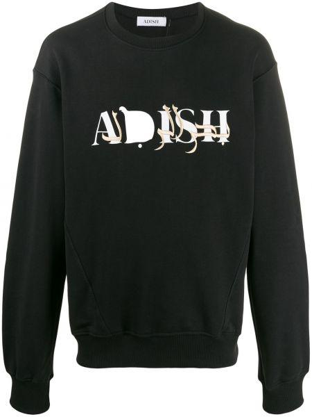 Черная толстовка Adish