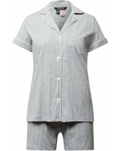 Piżamy z szortami bawełniana krótki rękaw Lauren Ralph Lauren
