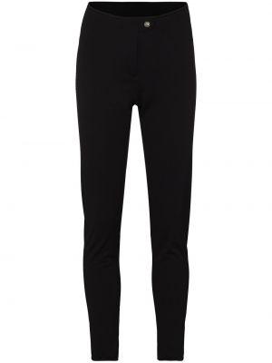 Брючные черные брюки дудочки Colmar