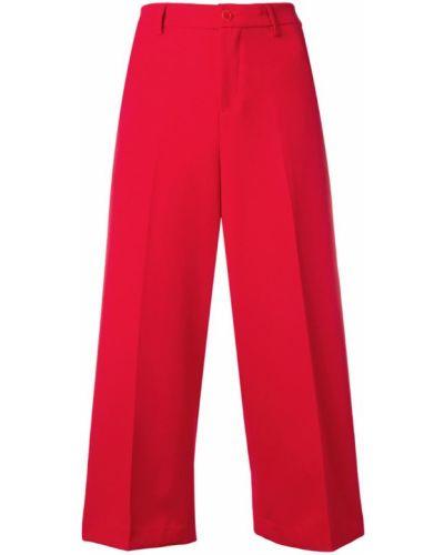 Свободные брюки укороченные с поясом Liu Jo