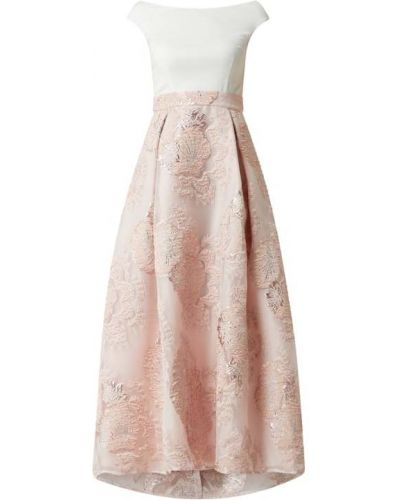 Sukienka wieczorowa, różowy Swing