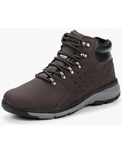 Ботинки осенние высокие из нубука Ascot