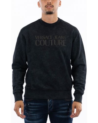 Czarna bluza dresowa Versace Jeans Couture