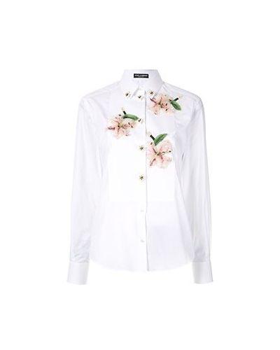 Рубашка - белая Dolce&gabbana