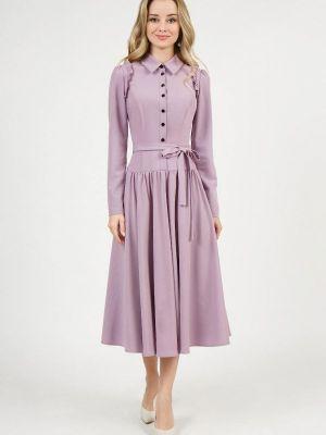 Платье рубашка - розовое Marichuell