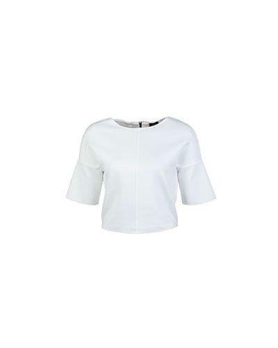Белый топ Armani Jeans