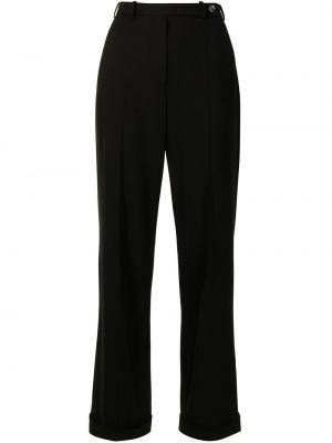 Черные брюки с поясом Giorgio Armani