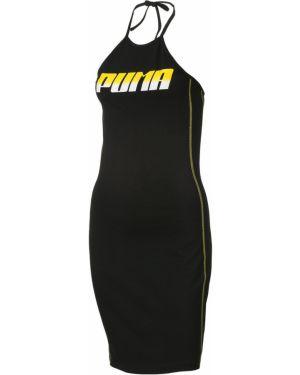 Облегающее платье с надписью спортивное Puma