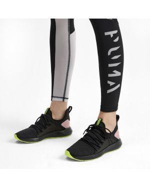 Кроссовки для бега с логотипом черные Puma