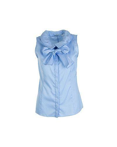 Блузка синяя Van Laack