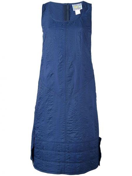 Платье винтажное без рукавов с вырезом на молнии Walter Van Beirendonck Pre-owned