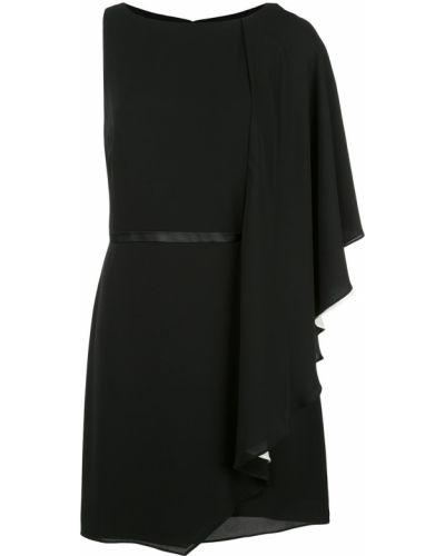 Платье мини на молнии с вырезом Halston Heritage