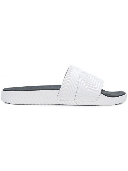 Резиновые шлепанцы - белые Adidas Originals By Alexander Wang