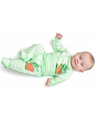 Распашонка зеленый салатовый Babyglory
