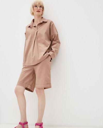 Костюмный коричневый костюм Izabella