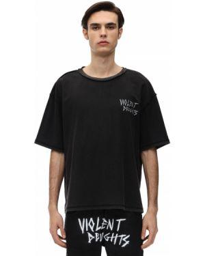 Czarna koszula oversize vintage Other