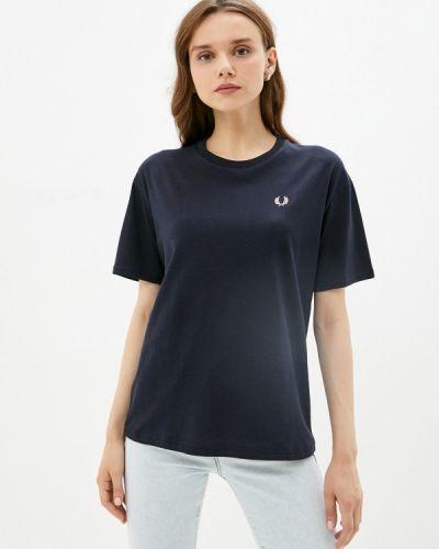 Синяя футболка с короткими рукавами Fred Perry