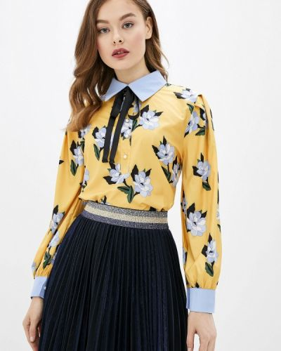 Блузка с длинным рукавом желтый Sister Jane