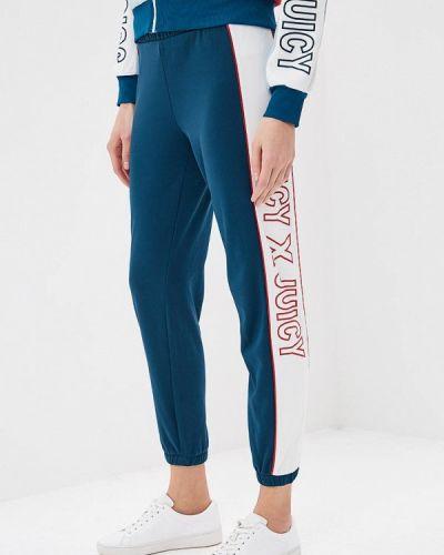 Спортивные брюки бирюзовый Juicy By Juicy Couture
