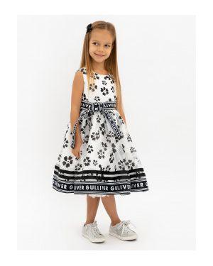 Платье макси из органзы с цветочным принтом Gulliver Wear