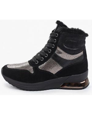 Черные высокие кроссовки Tamaris