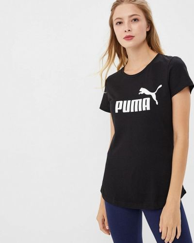 Черная футболка 2019 Puma