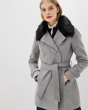 Зимнее пальто серое пальто Piazza Italia
