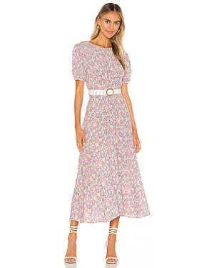 Платье миди на пуговицах с поясом Faithfull The Brand