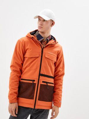 Оранжевая утепленная куртка Merrell