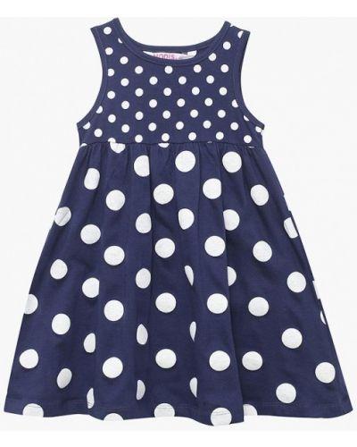 Синее платье Modis