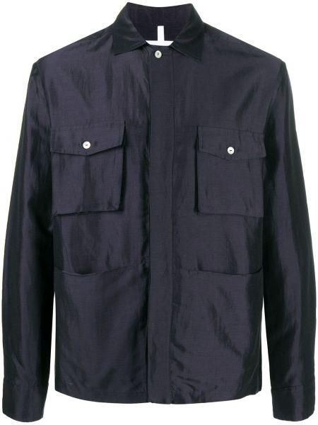 Классическая прямая рубашка с воротником на пуговицах Soulland
